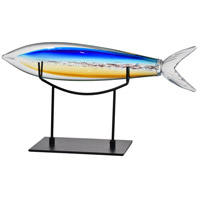 Dale Tiffany AS15483 Fish Figurine, with Stand