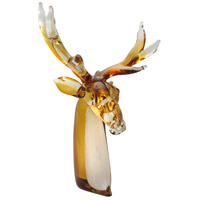 Reindeer Art Glass Figurine