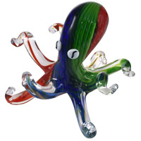 Octopus Art Glass Figurine