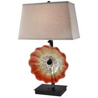 Dale Tiffany AT14341 Titan 29 inch 100 watt Dark Bronze Table Lamp Portable Light