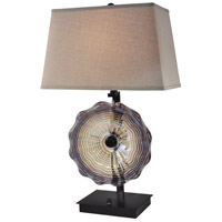 Dale Tiffany AT14349 Impasto 29 inch 100 watt Dark Bronze Table Lamp Portable Light