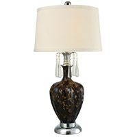 Dale Tiffany AT15330LED Elements 31 inch 7.5 watt Polished Chrome Table Lamp Portable Light