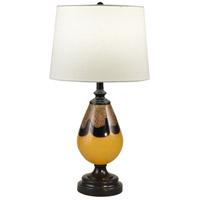 Dale Tiffany AT18322 Evelyn 28 inch 150.00 watt Ebony Black Table Lamp Portable Light