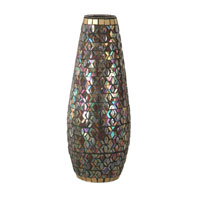 Dale Tiffany Peacock Mosaic Grande Vase AV10660