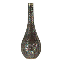 Dale Tiffany Peacock Mosaic Tall Vase AV10661