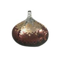 Dale Tiffany Metalic Mosaic Decorative Vase AV10722 photo thumbnail