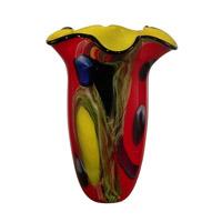 Dale Tiffany Trevor Art Glass Vase AV10761