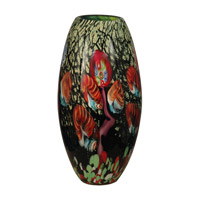 Dale Tiffany AV10765 Malcolm Art Glass Vase