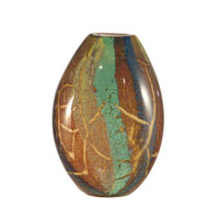 Dale Tiffany Humphrey Art Glass Vase AV10770