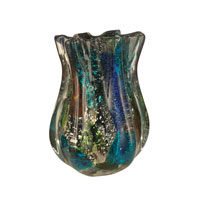 Dale Tiffany Augustus Art Glass Vase AV11097
