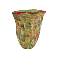 Dale Tiffany Rosalie Art Glass Vase AV11102