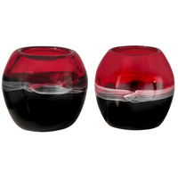 Sandlewood 4 X 4 inch Candle Holder, 2-Piece Set