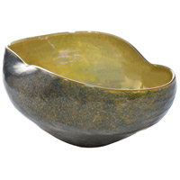 Prismatic Art Glass Bowl