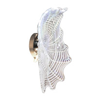 White Feather 3 Light 16 inch Polished Chrome Wall Sconce Wall Light in 16in, Yes