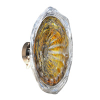Dale Tiffany Saffron 3 Light 16in Wall Sconce in Polished Chrome AW13308-D16LT