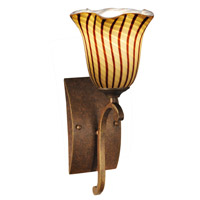 Valley Glen 1 Light 6 inch Antique Golden Bronze Wall Sconce Wall Light