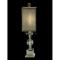 Dale Tiffany Castine 1 Light Accent Lamp in Polished Nickel GA11219