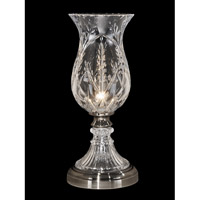 Dale Tiffany Willis 1 Light Table Lamp in Antique Pewter GA13071