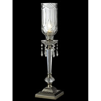 Eclipse 21 inch 40 watt Polished Nickel Table Lamp Portable Light