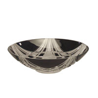Dale Tiffany Black Shield Bowl GA60839