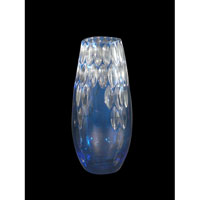 Dale Tiffany Blue Marble Small Vase GA80030