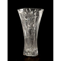 Dale Tiffany GA80036 Crystal Leaf Vase photo thumbnail