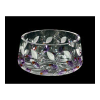 Dale Tiffany GA80043 Lavender Leaf Bowl