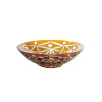 Dale Tiffany Glossy Amber Bowl GA80047