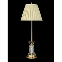 Dale Tiffany Russell Buffet Lamp 1 Light in Antique Brass GB10366