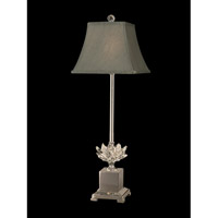 Dale Tiffany Lucinda 1 Light Buffet Lamp in Polished Nickel GB11208