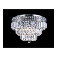 Dale Tiffany Bradford Flush Mount 9 Light in Polished Chrome GH10039