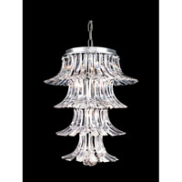 Dale Tiffany Stanford Rivers Hanging Fixture 10 Light in Polished Chrome GH10315