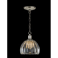 Dale Tiffany San Bruno Pendant 1 Light in Polished Chrome GH10753