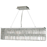 Canley 6 Light 28 inch Polished Chrome Chandelier Ceiling Light
