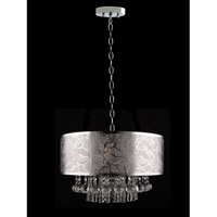 Signature 3 Light 20 inch Polished Chrome Pendant Ceiling Light