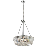 Dale Tiffany GH13364 Palace 5 Light 20 inch Polished Chrome Chandelier Ceiling Light