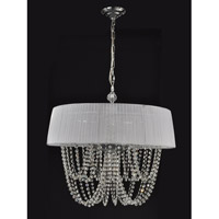 Philadelphia 4 Light 26 inch Polished Chrome Chandelier Ceiling Light