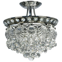 Carmen 4 Light 16 inch Polished Chrome Flush Mount Ceiling Light