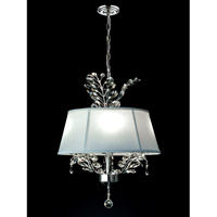 Dale Tiffany Crawford 4 Light Pendant in Polished Chrome GH14215