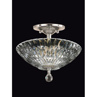 Lightwater 3 Light 13 inch Polished Chrome Flush Mount Ceiling Light