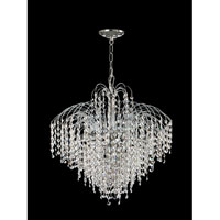 Dale Tiffany Massa 6 Light Chandelier in Polished Chrome GH70249 photo thumbnail