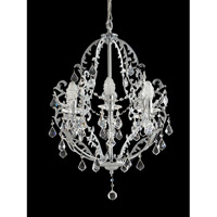 Dale Tiffany Buchanon 6 Light Chandelier in Polished Chrome GH70380