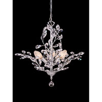 Dale Tiffany Teddington 3 Light Chandelier in Polished Chrome GH80263