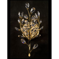 Dale Tiffany Cranford Crystal Wall Sconce 1 Light in Gold Plated GH80266 photo thumbnail