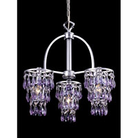 Dale Tiffany Eastbourne 3 Light Pendant in Polished Chrome GH80296