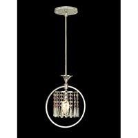 Dale Tiffany Cardigan Pendant 1 Light in Polished Chrome GH80345