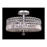 Dale Tiffany New Berlin 4 Light Semi-Flush Mount in Polished Chrome GH80501