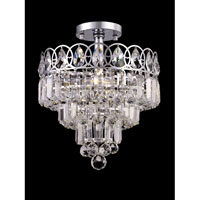 Dale Tiffany New London 4 Light Semi-Flush Mount in Polished Chrome GH80502