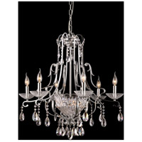 Dale Tiffany Oxford 8 Light Chandelier in Polished Chrome GH90092