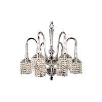 Dale Tiffany Kings Lynn 6 Light Chandelier in Polished Chrome GH90102